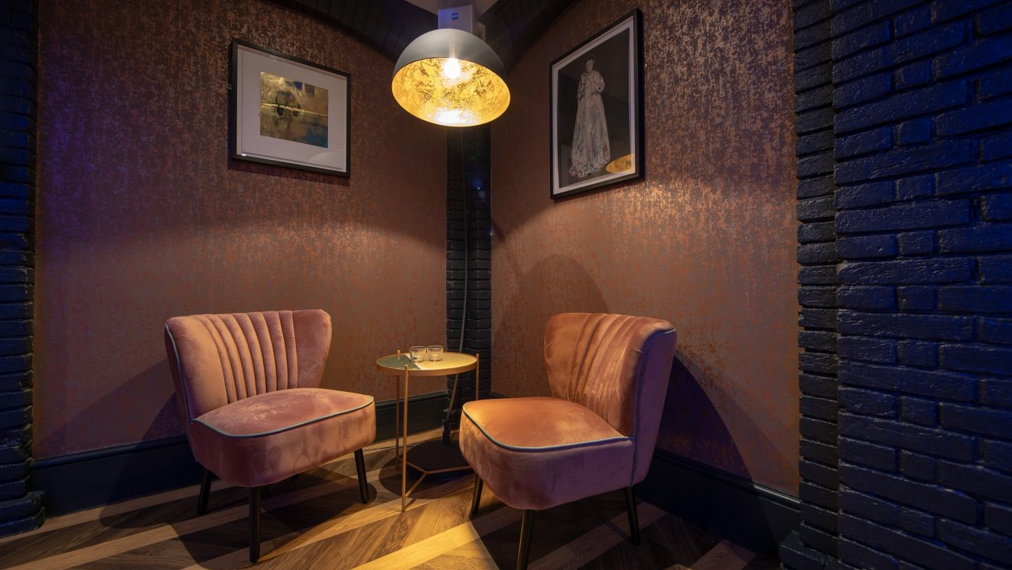 Cosy seating - great for networking