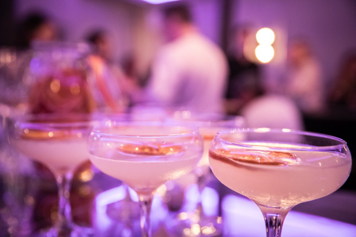 Experimental cocktails ideal for any reception