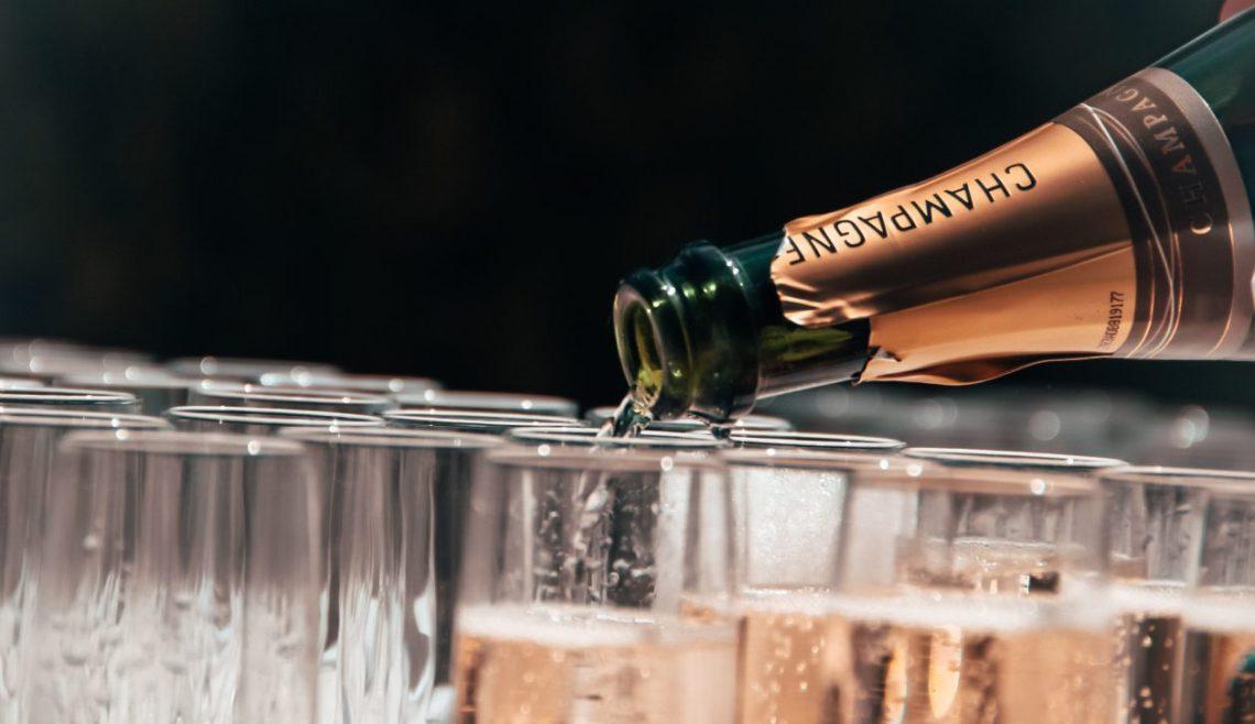 Christmas 2020 champagne