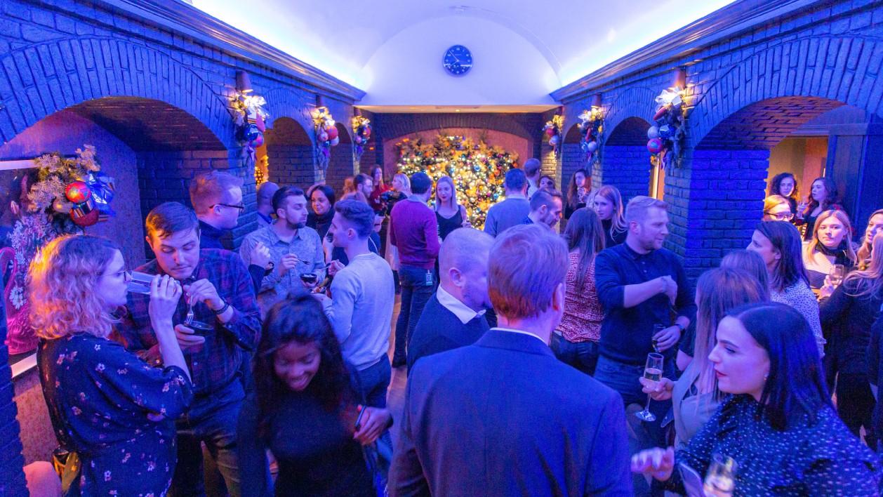 Evening drinks reception