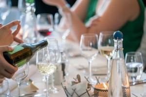 Private dining in progress