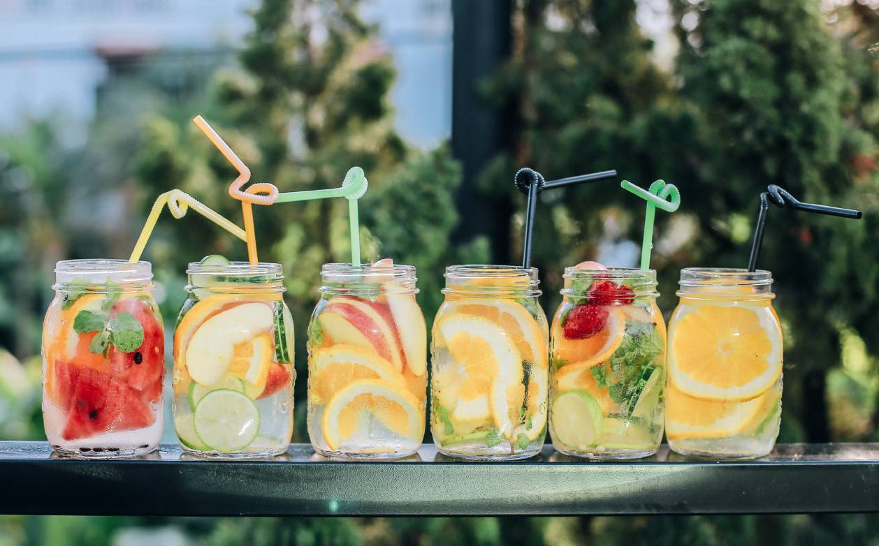 Drinks for a summer party